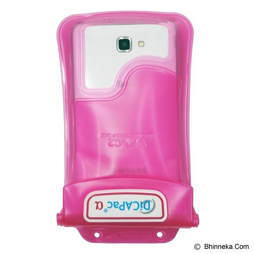 DICAPAC Waterproof Bag [WP-C2] - Pink (C) - Plastik Handphone / Waterproof